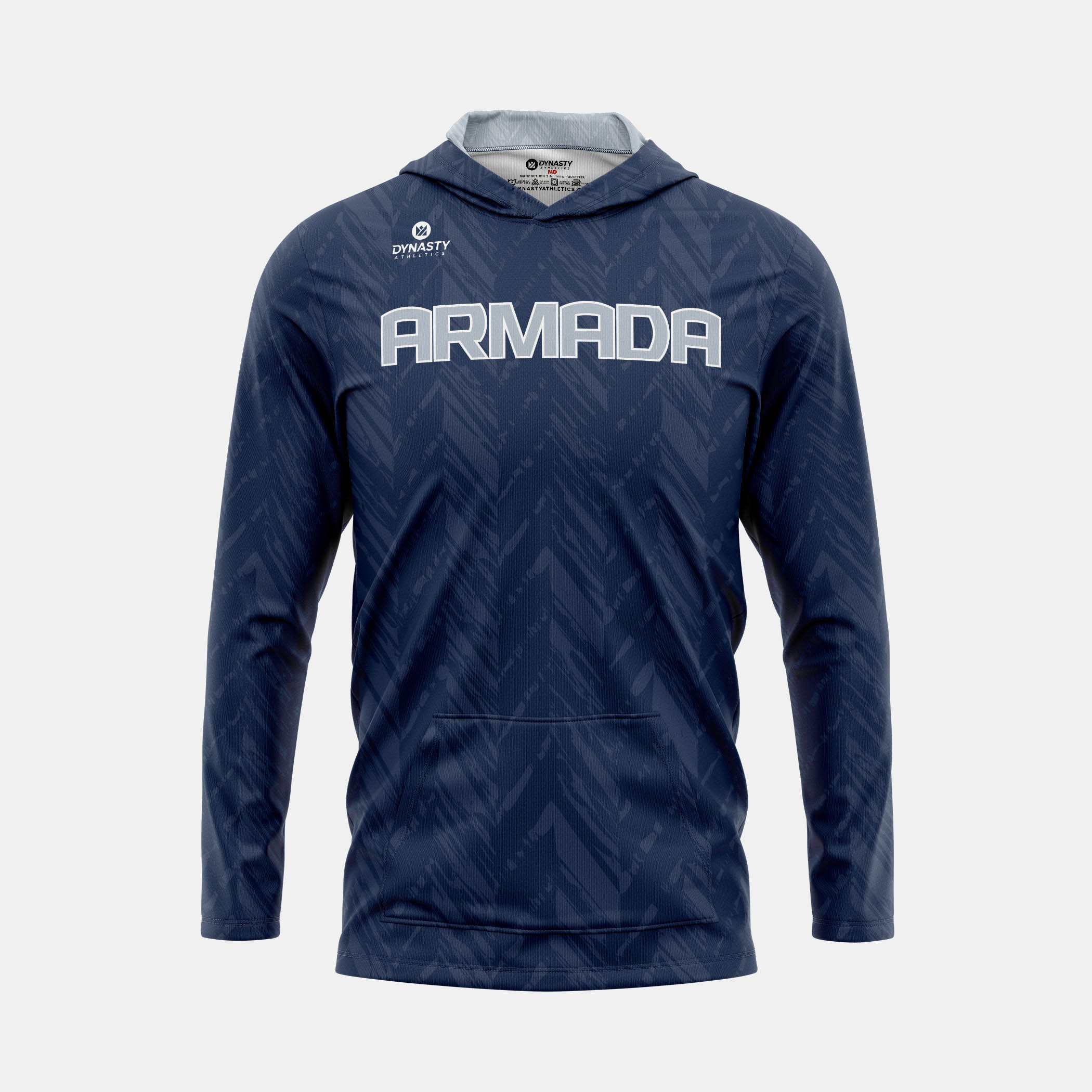 Armada Hooded Pullover Front View 1