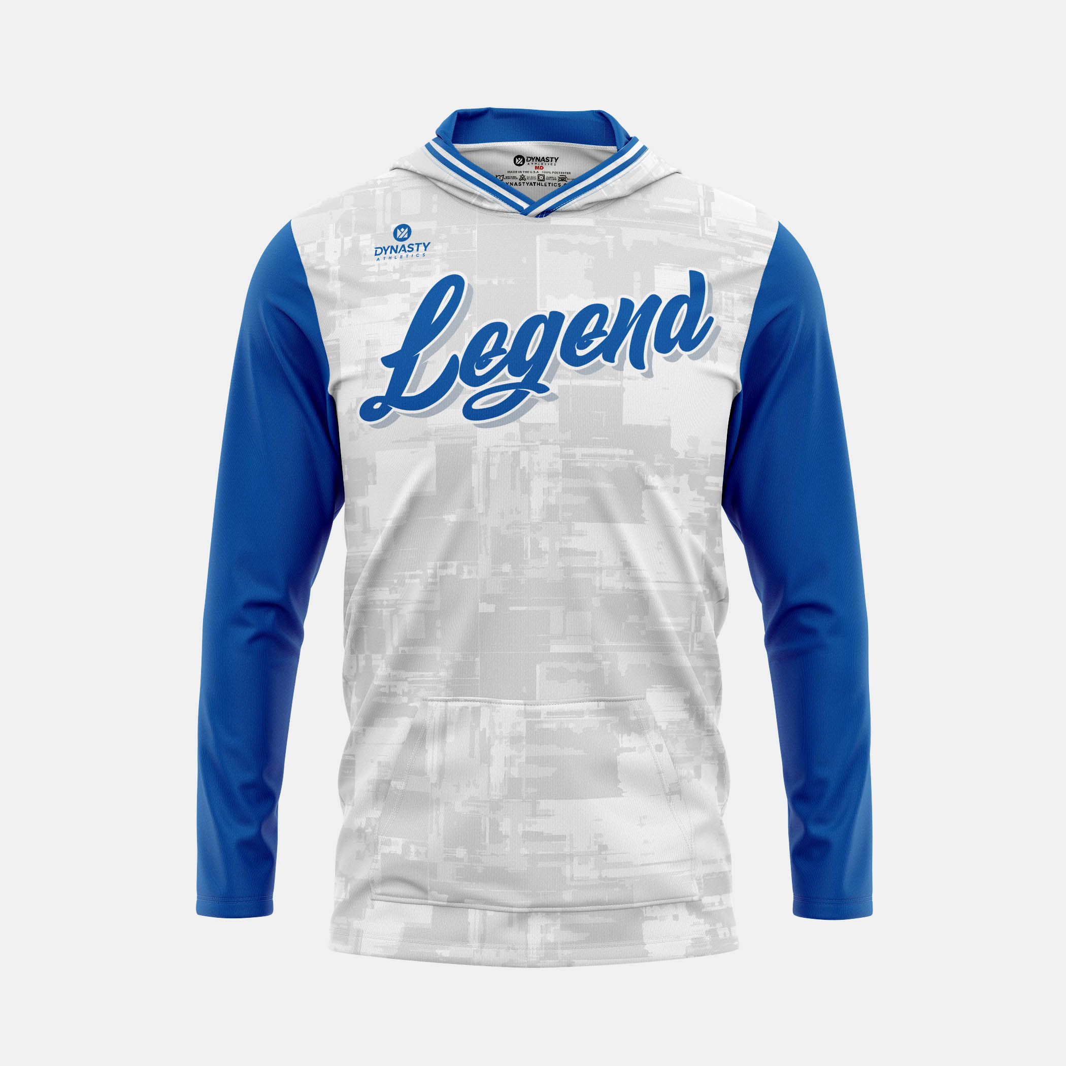 Legend Hooded Pullover Front View