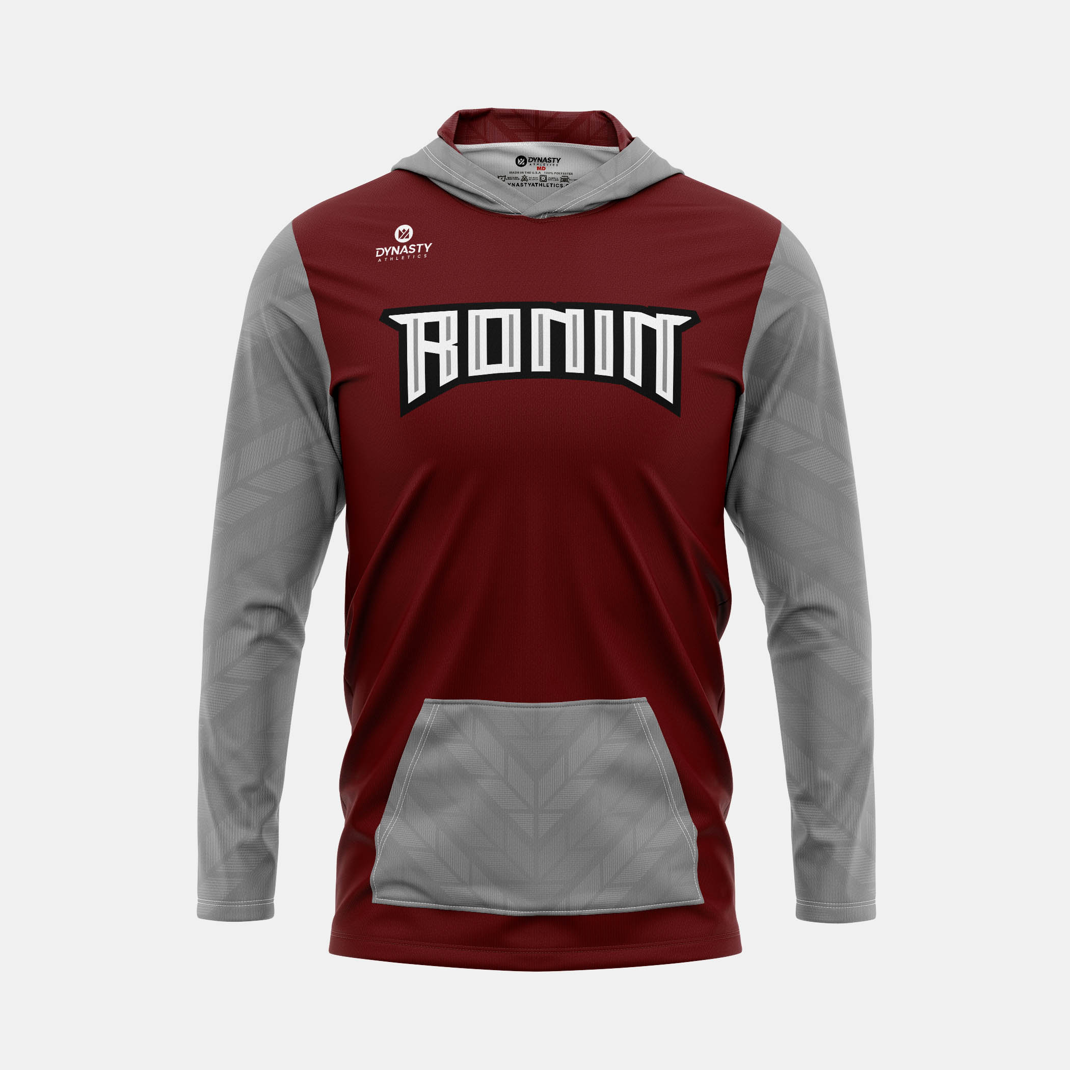 Ronin Hooded Pullover Front View