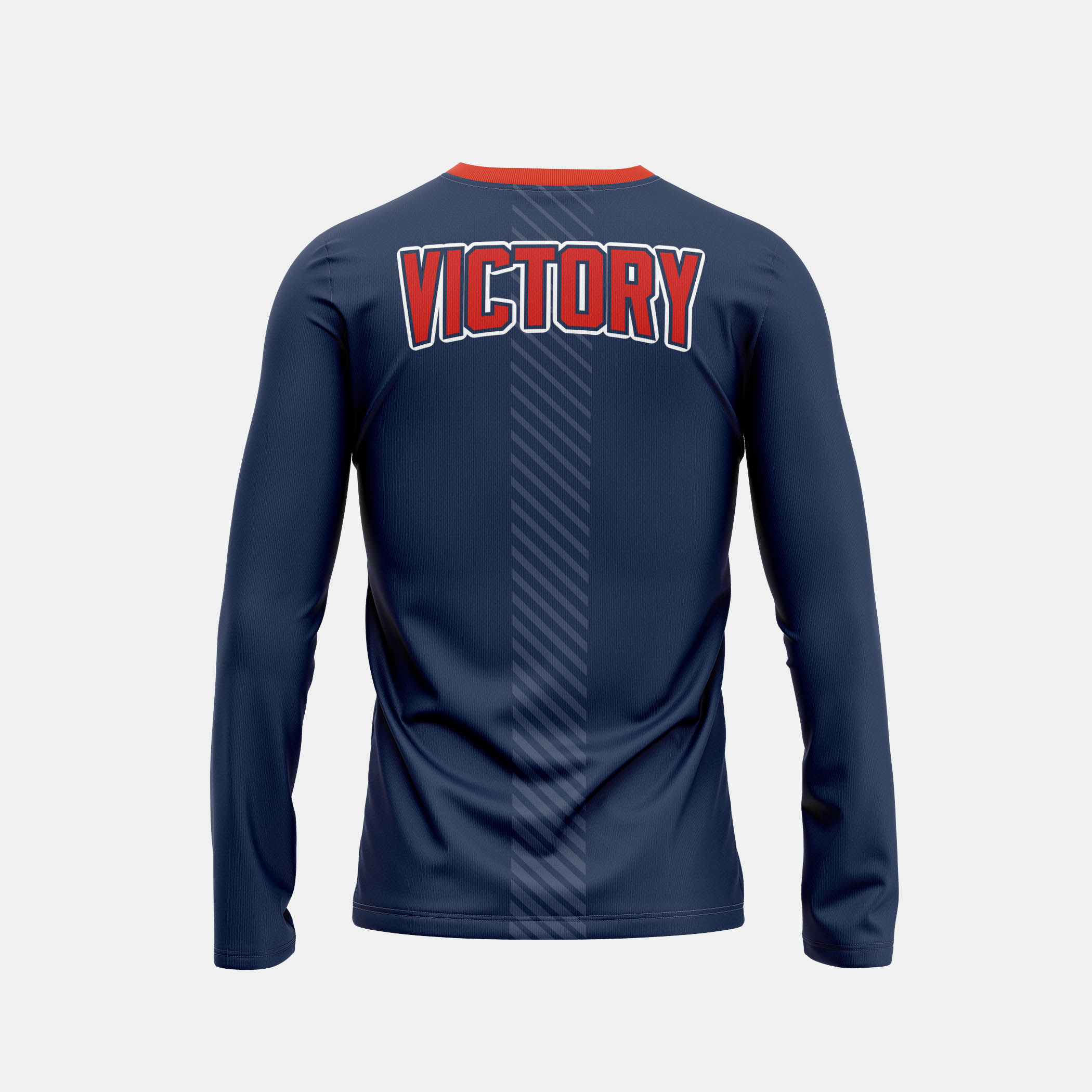 Victory Mens LS Back View