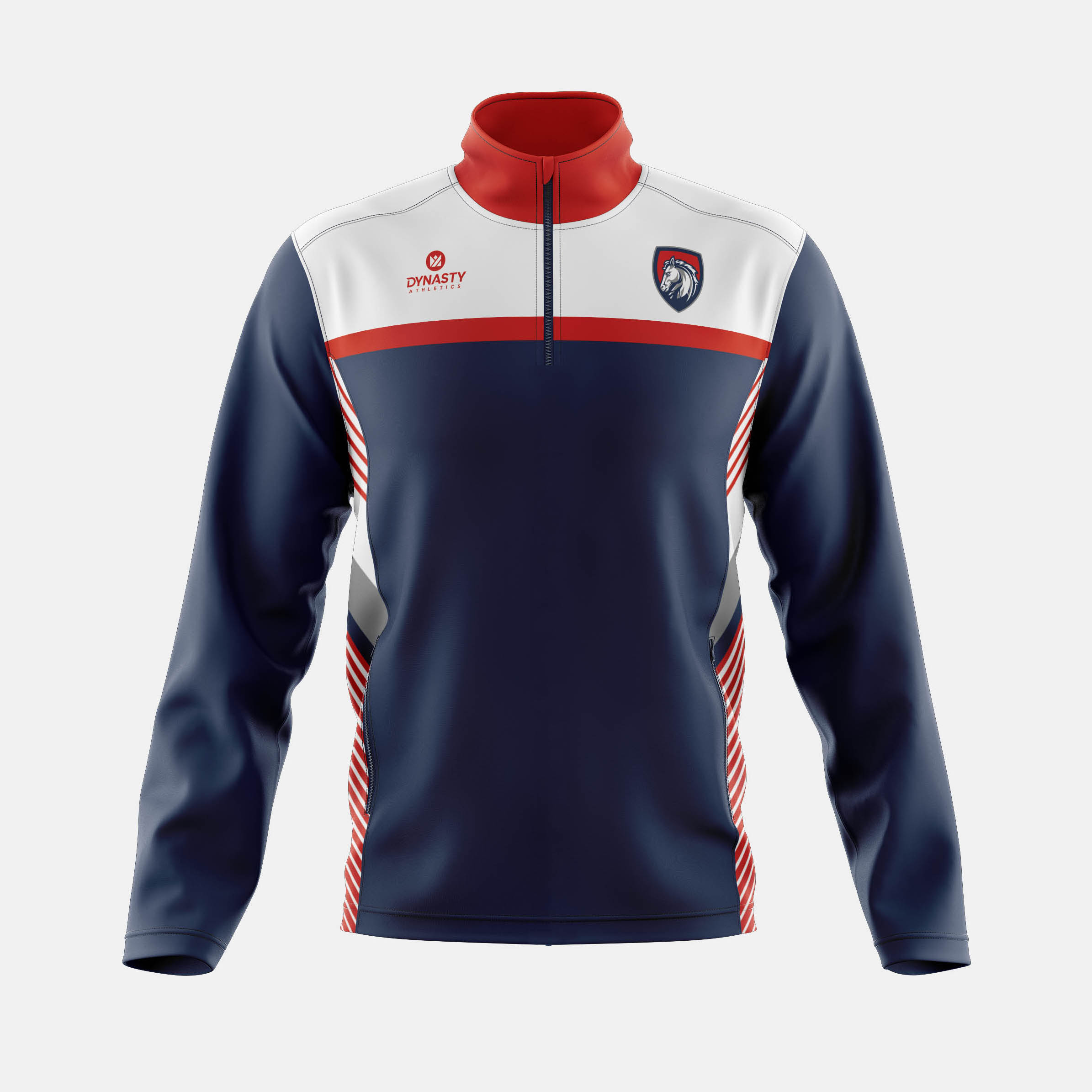 Victory Qtr Zip Track Jacket Front View