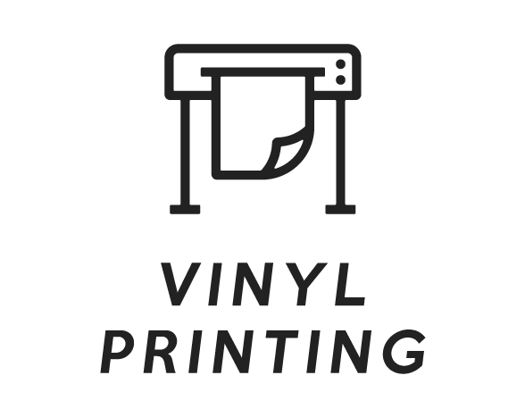 Vinyl Printing Black