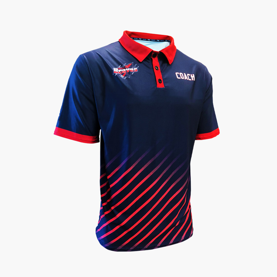 Braves Polo Front