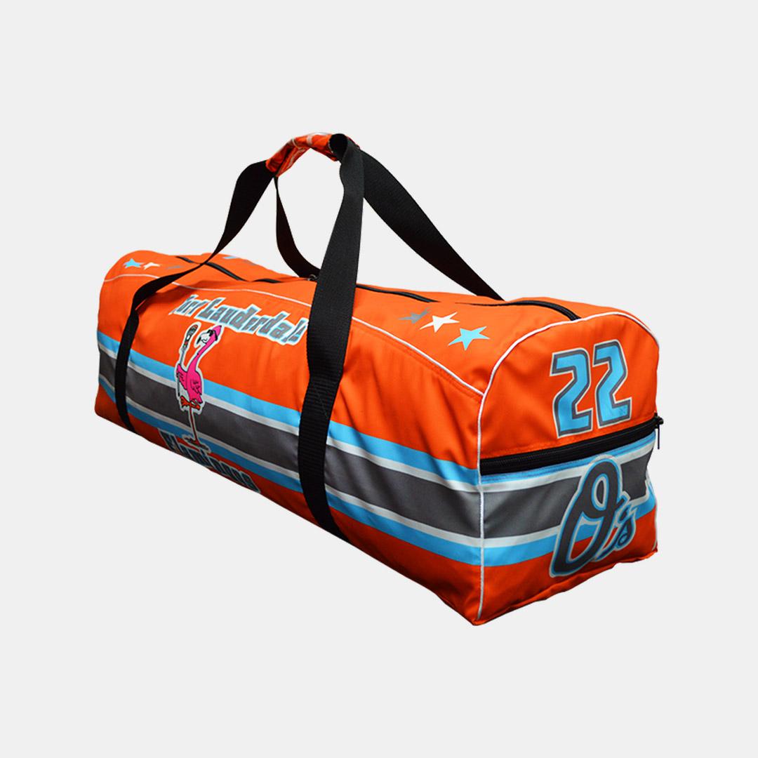 Flamingos Orange Bag Side1 1