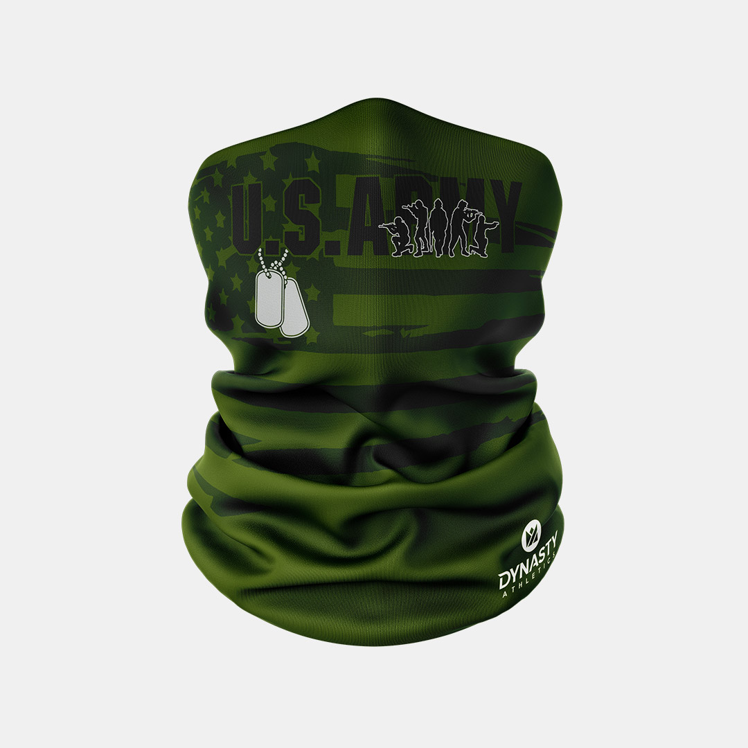 Lacrossewear Sublimated Gaiter Army