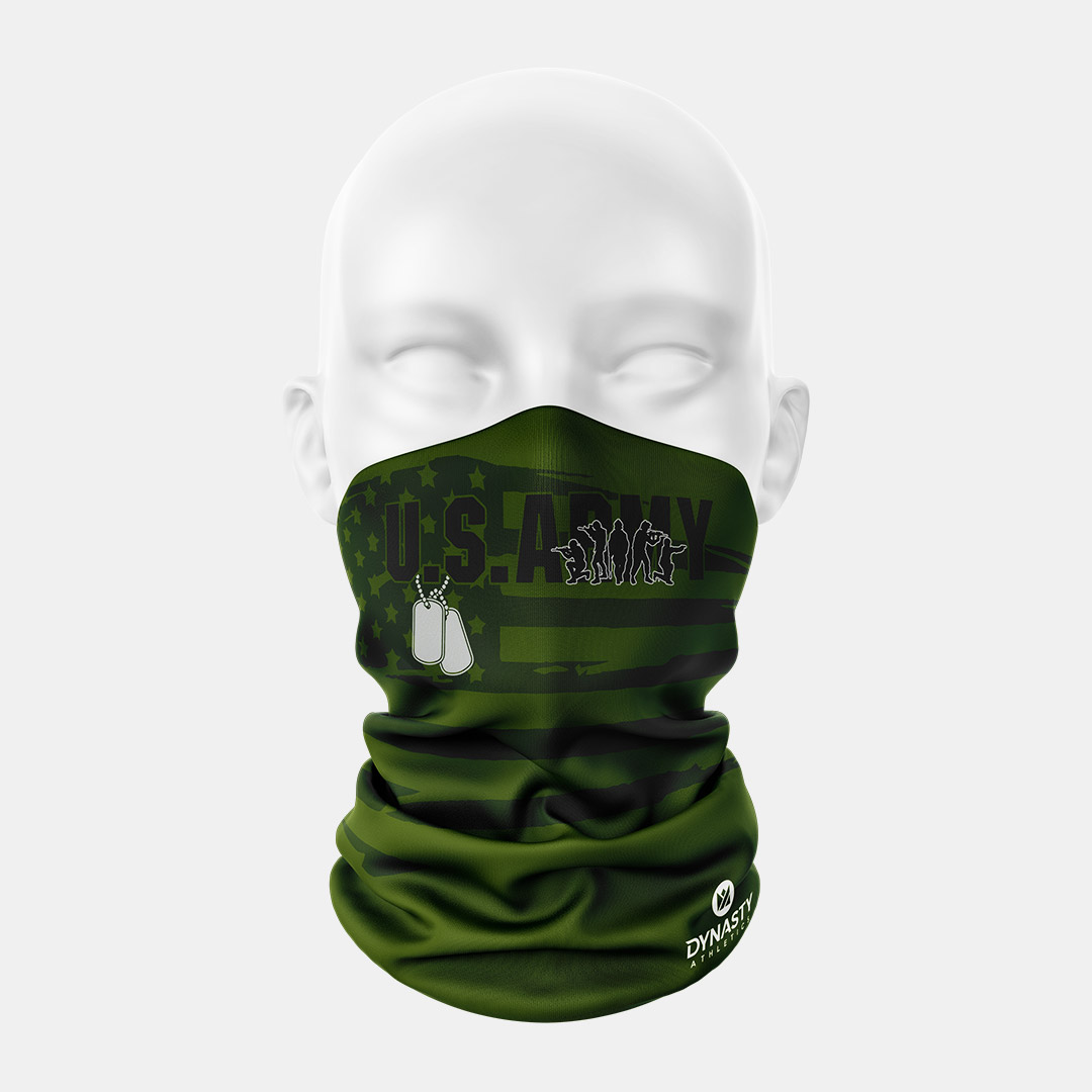 Lacrossewear Sublimated Gaiter Army2