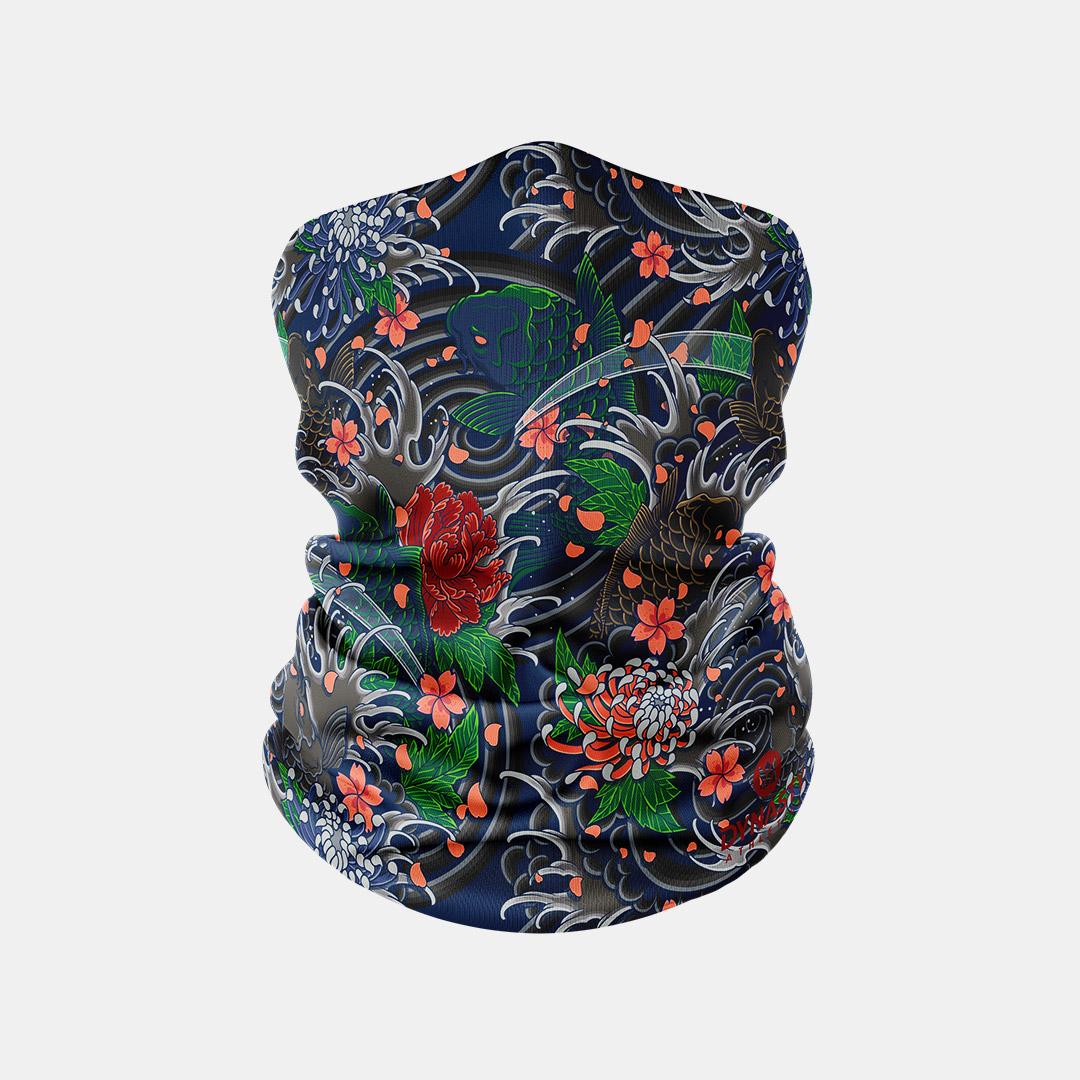 Lacrossewear Sublimated Gaiter Koi Blossom
