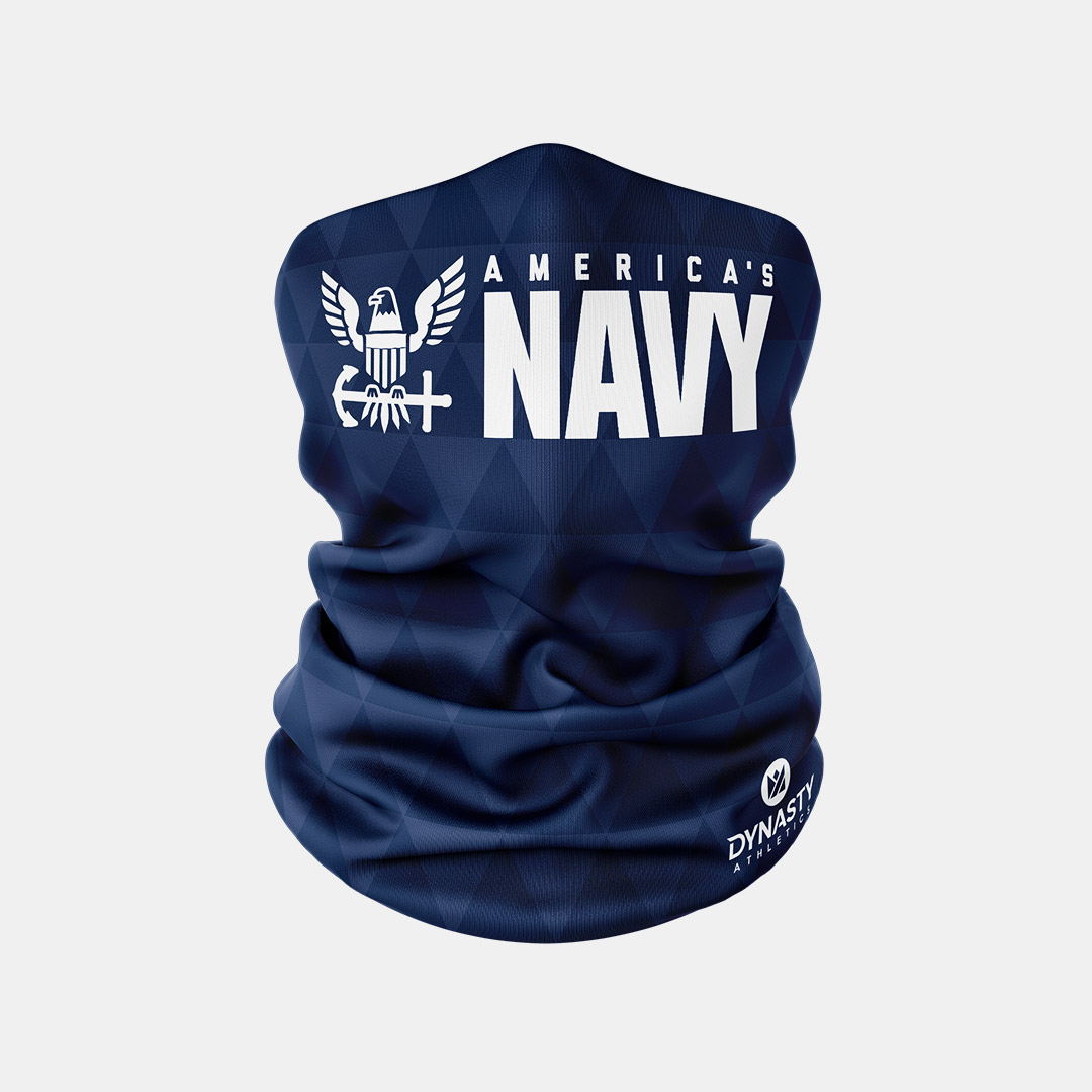 Lacrossewear Sublimated Gaiter Navy