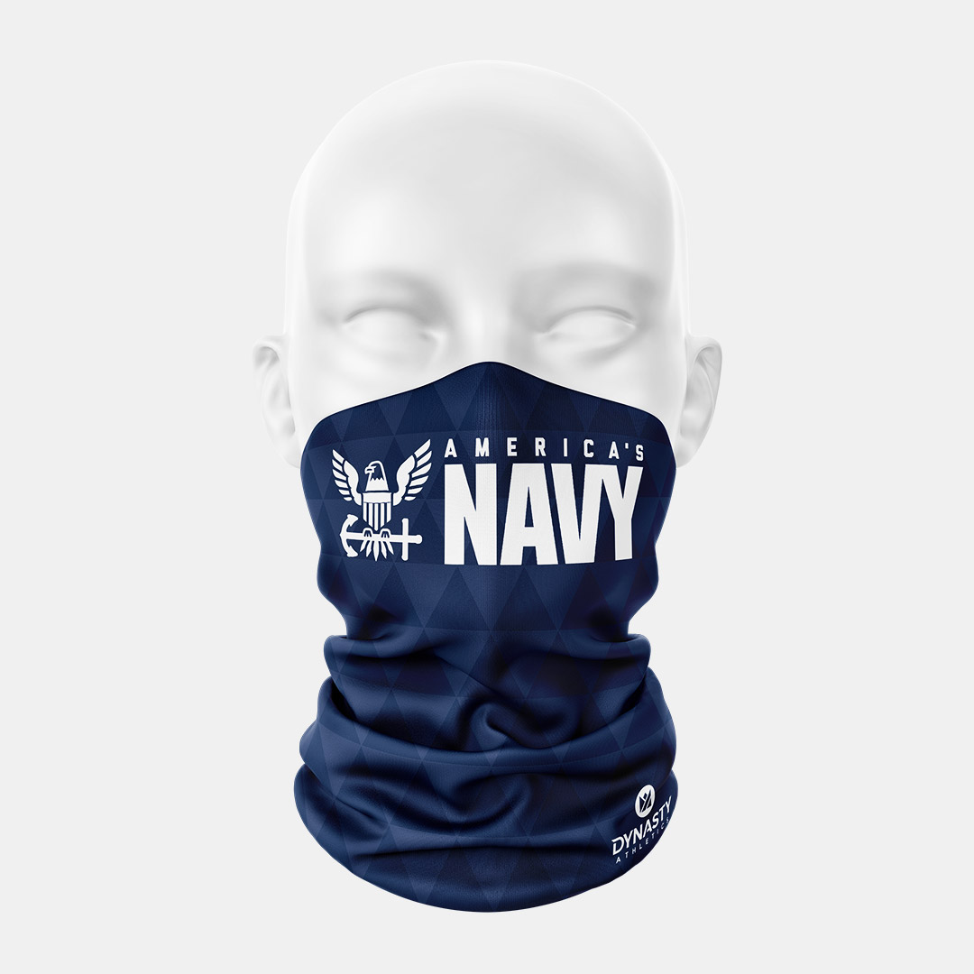 Lacrossewear Sublimated Gaiter Navy2