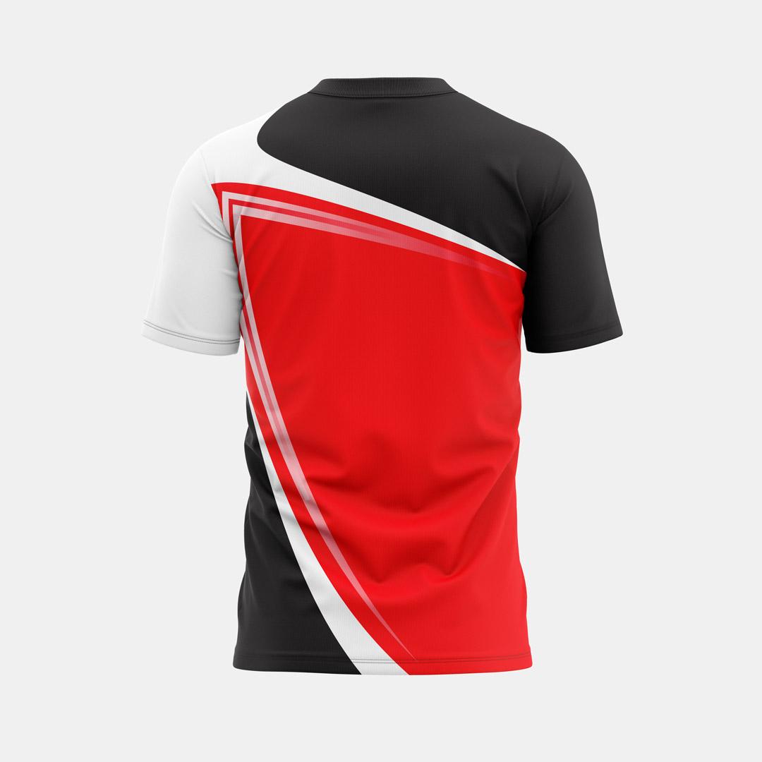 Lacrossewear Sublimated Shirt Random1 Back