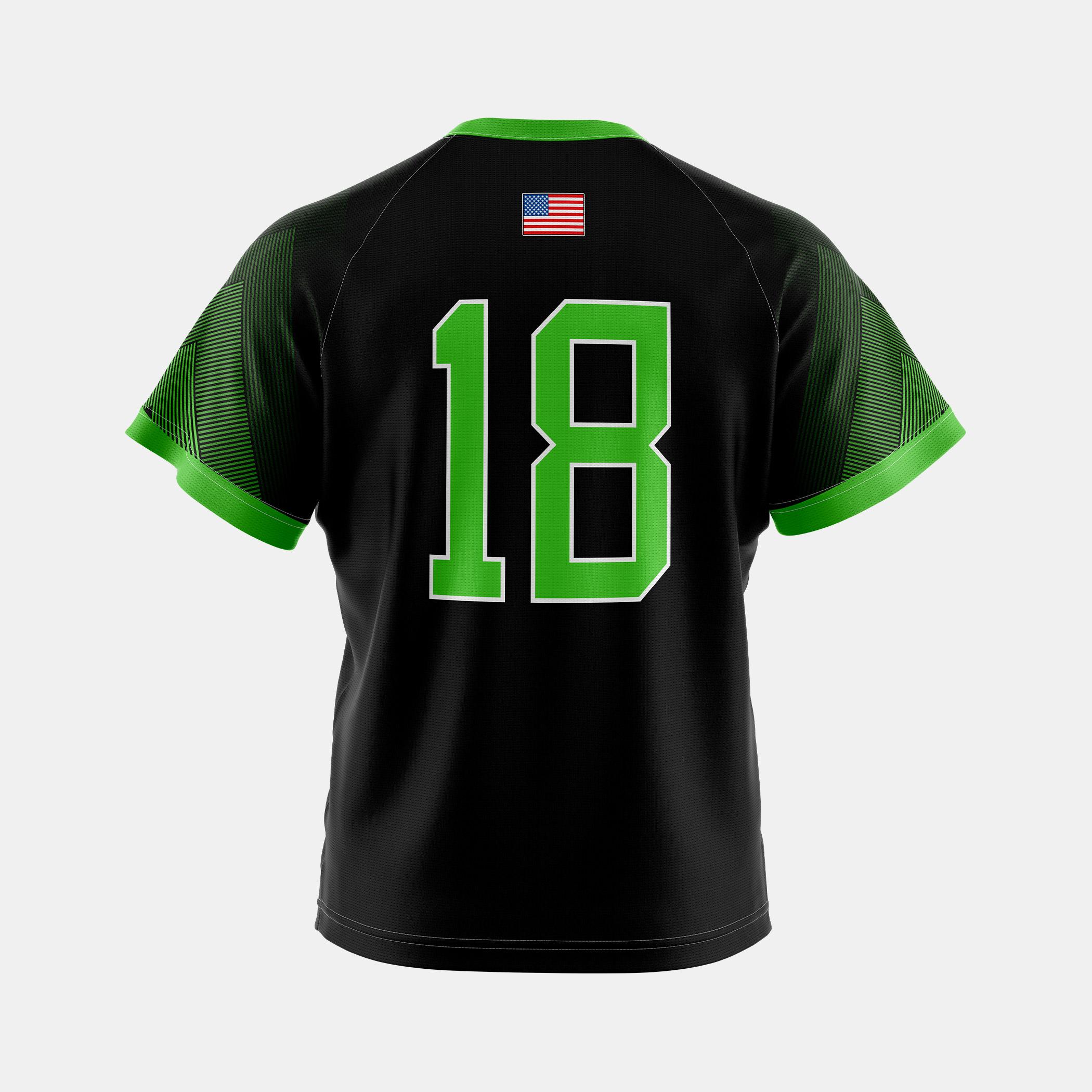 Infinity Jersey Black Back