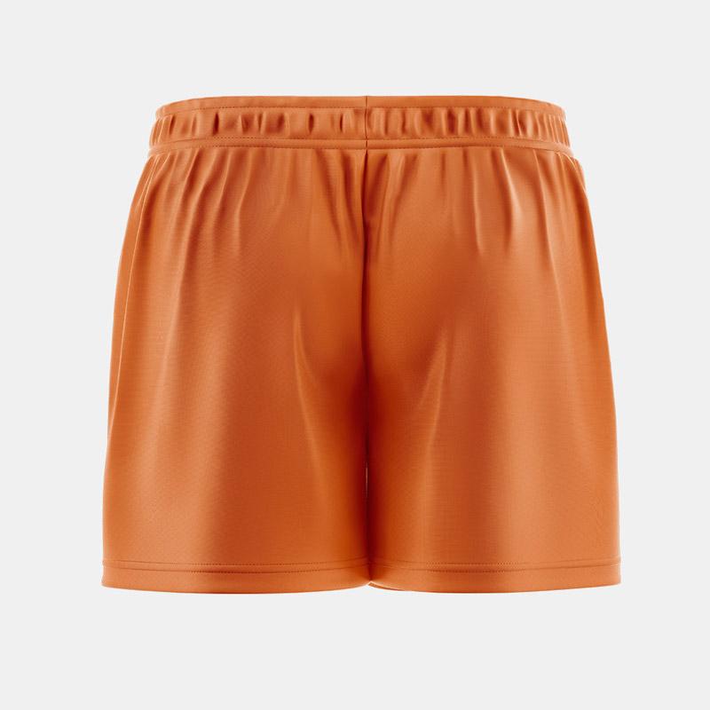 Lacrossewear Womens Sublmiated Short Back FL Orange