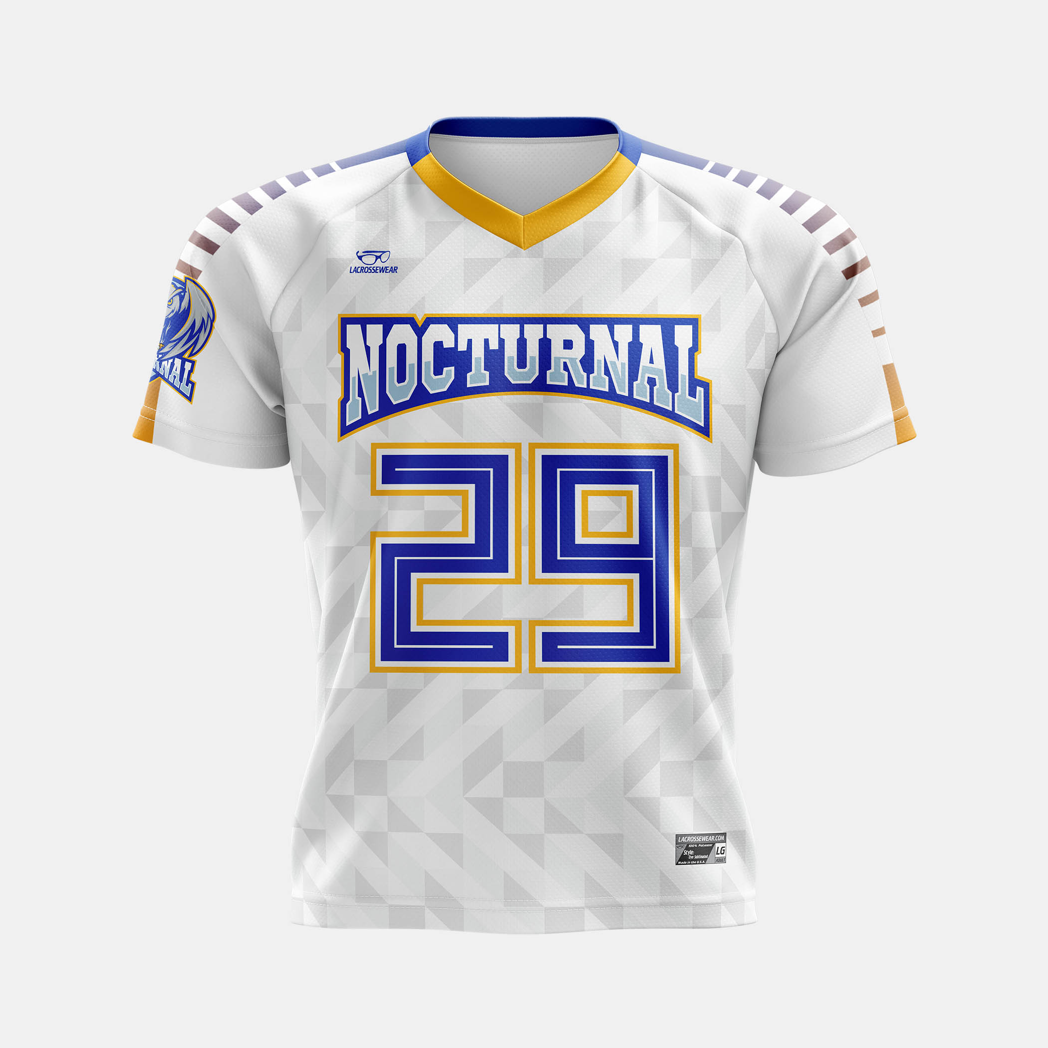 Nocturnal Lax Jersey Mock Front View